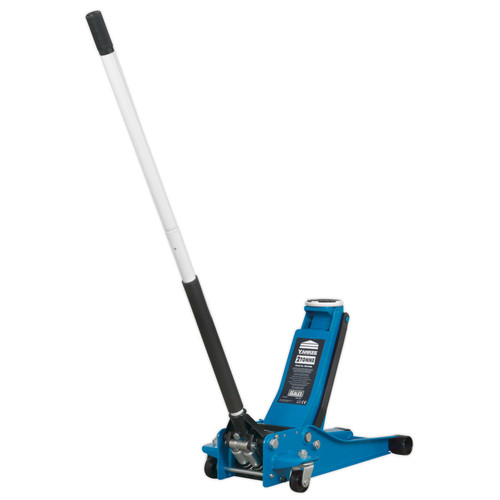 Buy Sealey 2001LEBL Trolley Jack 2tonne Low Entry Rocket Lift Blue at Toolstop