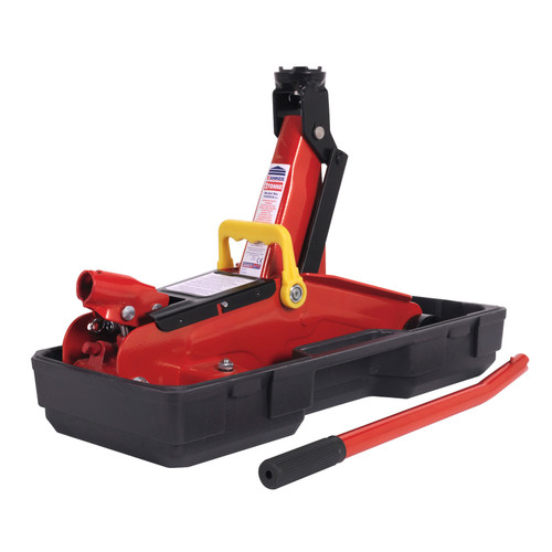 Buy Sealey 1050CXD Trolley Jack 2tonne Short Chassis With Storage Case at Toolstop