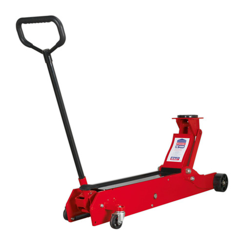 Buy Sealey 10000ES Trolley Jack 10tonne European Style at Toolstop