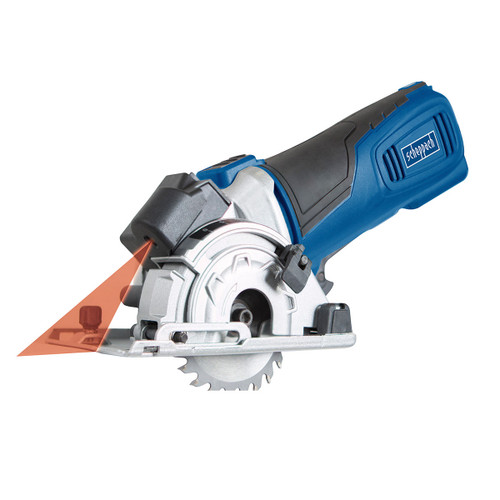 Scheppach PL285 Plunge Saw with 3 x Blades, 3 x 420mm Rails and Mitre Base 240V - 5