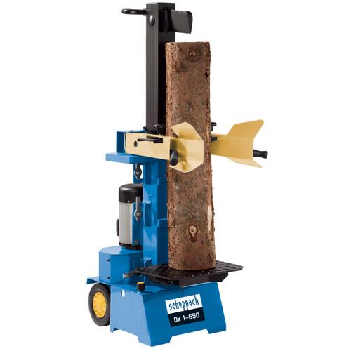 Scheppach OX1-650 Vertical Log Splitter 240V (6Ton) - 3