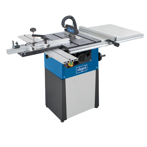 Scheppach Precisa TS82 8 Inch Saw Table with Sliding Table Carriage, TWE & Base Unit - 1