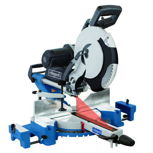 Scheppach HM120L 305mm Double Bevel Sliding Mitre Saw 240v - 2