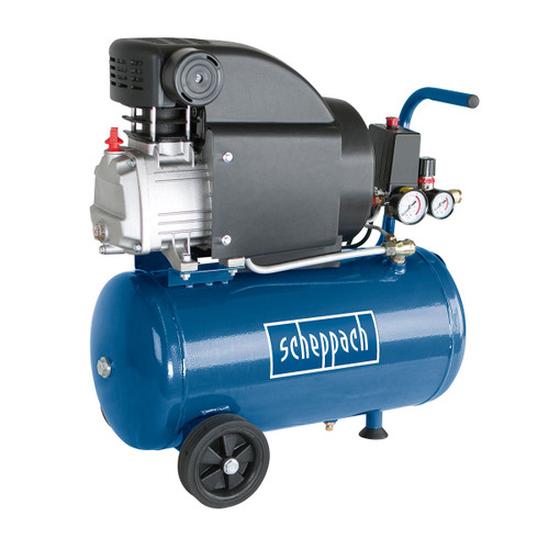Scheppach HC25 Compressor 24 Litre x 2.0 HP 240V - 1