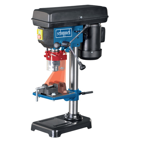 Buy Scheppach DP16VL Bench Drill 6 Speed with Cross Laser and Vice 240V for GBP115.83 at Toolstop