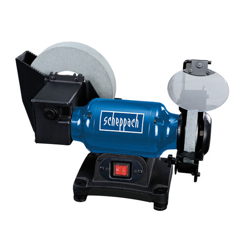 Buy Scheppach BG200W Wet and Dry Bench Grinder 200mm 240V at Toolstop