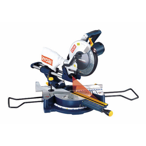 Buy Ryobi EMS2026SCL 254mm (10in) Sliding Mitre Saw with Laser and AFS01 Stand 110V at Toolstop