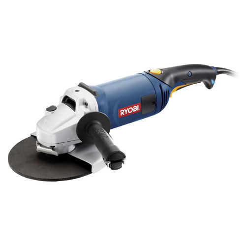 "Buy Ryobi EAG2023CN 230mm (9"") Angle Grinder with Rotating Back Handle 110V at Toolstop"