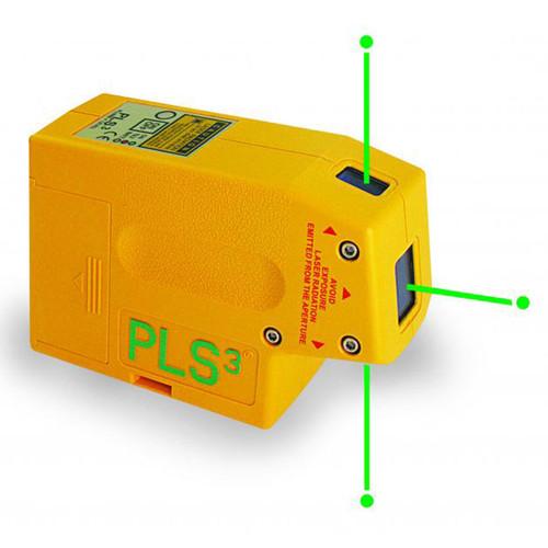 PLS Lasers 60595 PLS3 Green Beam Laser Alignment Tool  - 1
