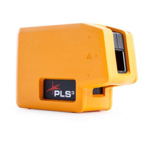 PLS3 Pacific Laser Systems 3 Point Red Laser Level (60523N) - 6