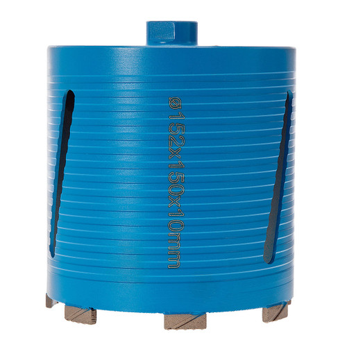 PDP DC12662 P5-EDDC Dry Diamond Core Drill 152 x 150mm 5* General Purpose Building Materials - 3