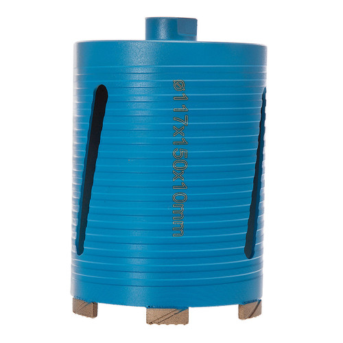PDP DC12660 P5-EDDC Dry Diamond Core Drill 117 x 150mm 5* General Purpose Building Materials - 3