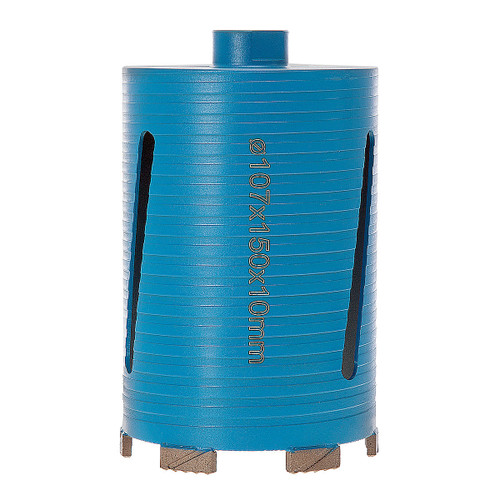 PDP DC12659 P5-EDDC Dry Diamond Core Drill 107 x 150mm 5* General Purpose Building Materials - 3