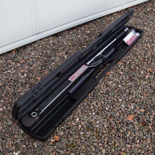Norbar 12009.01 Torque Wrench, 1 Inch Ratchet, Adjustable, 300-1000 N.M/200-750 LBF.FT; Industrial 5R - 6