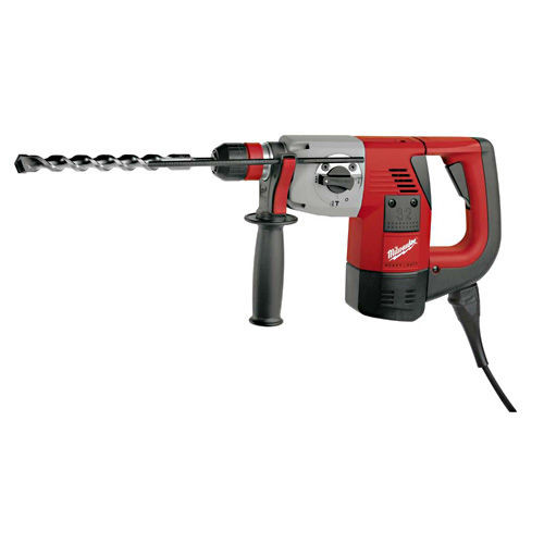 Buy Milwaukee PLH32QEX 32mm SDS+ Combi Hammer Drill with Fixtec 110V at Toolstop