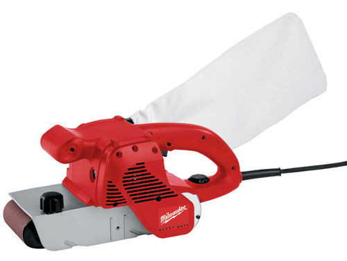 Buy Milwaukee BS100S 100mm Belt Sander 110V at Toolstop