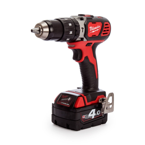 Milwaukee M18 BPD-402C 18V Combi Drill (2 x 4.0Ah Batteries) - 7