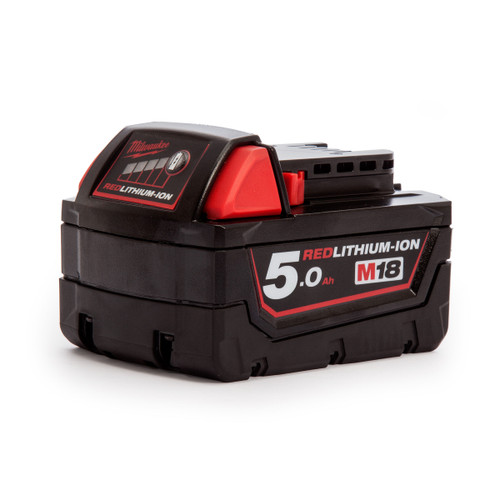 Milwaukee M18 Red Lithium-Ion Battery 5.0Ah - 3