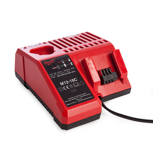 Milwaukee M12-18C Multi-Voltage Battery Charger - 1
