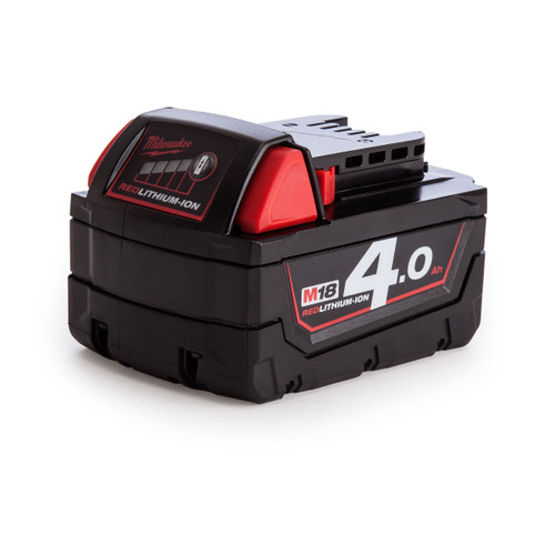 Milwaukee M18 Red Lithium-Ion Battery 4.0Ah - 2