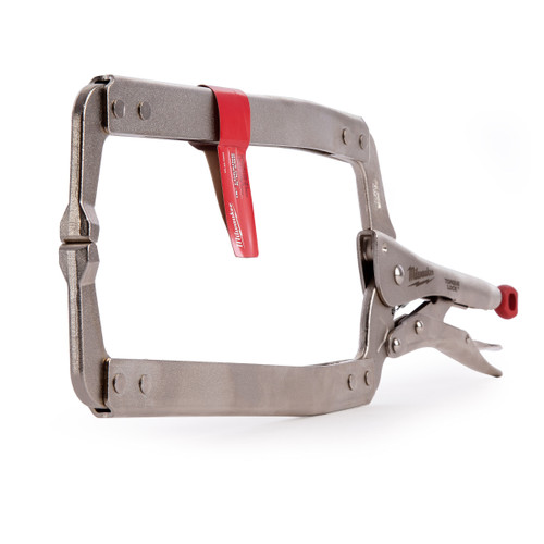 Milwaukee 48223530 Locking C-Clamp with Regular Pads 18in / 170mm - 2