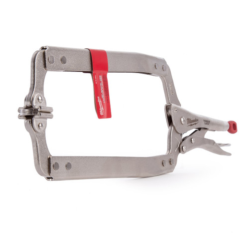 Milwaukee 48223520 Locking C-Clamp with Swivel Pads 18in / 170mm - 3