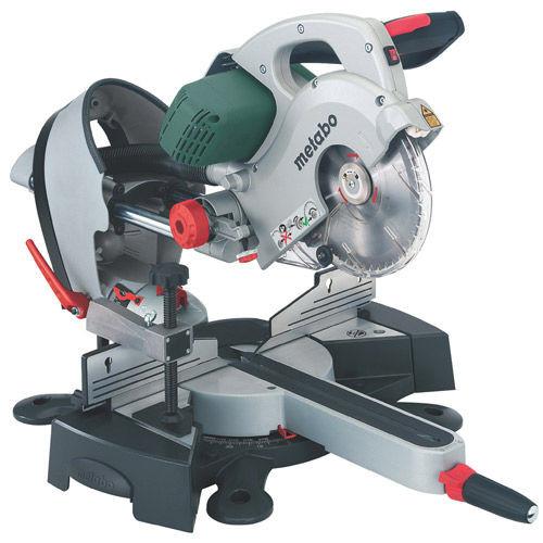 Metabo KGS216 Plus Laser Slide Compound Mitre Saw 110V - 3