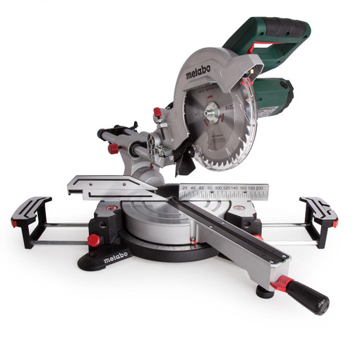 Metabo KGS216M Laser Slide Compound Mitre Saw 110V - 7