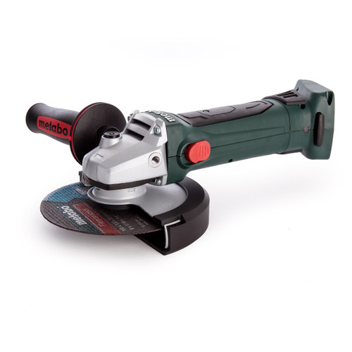 Metabo 600404840 W18LTX 150 Quick Cordless Angle Grinder 6in/150mm (Body Only) - 2