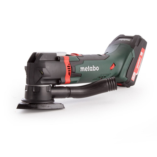 Metabo MT18LTX 613021510 18V Cordless Multitool in Case (2 X 2.0Ah Batteries)
