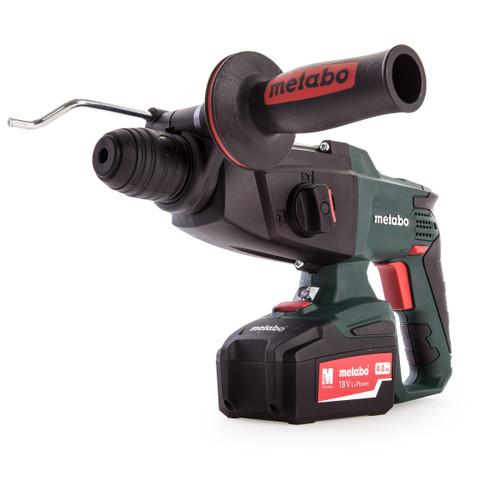 Metabo KHA 18 LTX Set SDS Hammer (3 x 4.0Ah Batteries) - 6