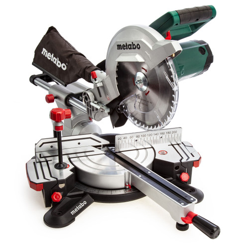 Metabo KGS254M Sliding Mitre Saw 254mm 1800w 240V - 11