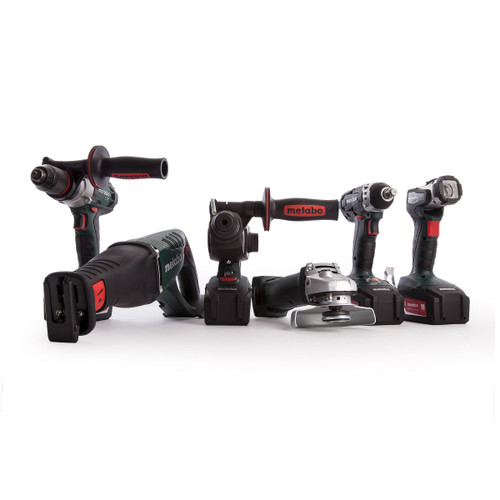 Metabo 691008000 Cordless 18V Construction Combo Set 6 Piece (4 x 4.0Ah Batteries) - 8
