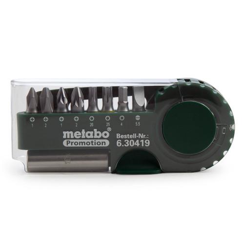 Metabo 630419000 9 Piece Screwdriver Bit Set - 2