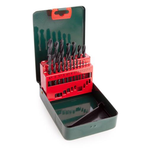 Metabo 6.27151 HSS-R Drill Bit Set for Metal 1 - 10mm (19 Piece) - 1
