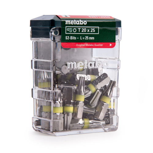 Metabo 626712000 T20 Bit Box Pack of 25 - 1