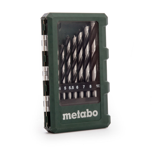 Metabo 6.26705 Wood Drill Bits in Case (8 Piece) - 2