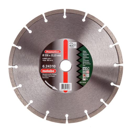 Metabo 6.24310 Diamond Cutting Disc Universal 230mm x 22.23mm - 2