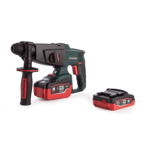 Metabo KHA18LTX Cordless SDS+ Hammer + 2 x Batteries & Charger - 8