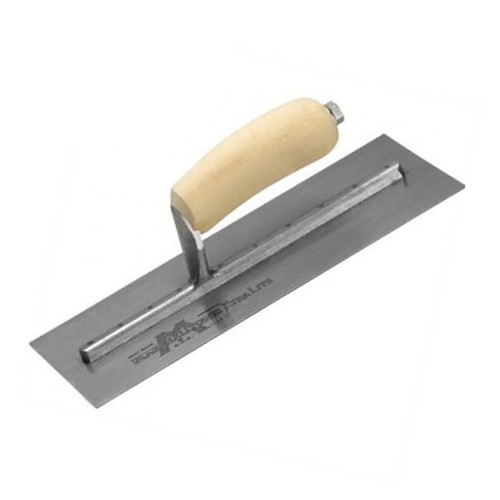 Buy Marshalltown MXS77 Cement Trowel 18 x 4.1/2in Wooden Handle at Toolstop