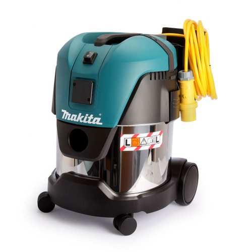 Buy Makita VC2012L Wet and Dry L Class 20L Dust Extractor Vacuum Cleaner 110V at Toolstop