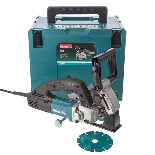 Makita SG1251J Wall Chaser 125mm 240V - 6