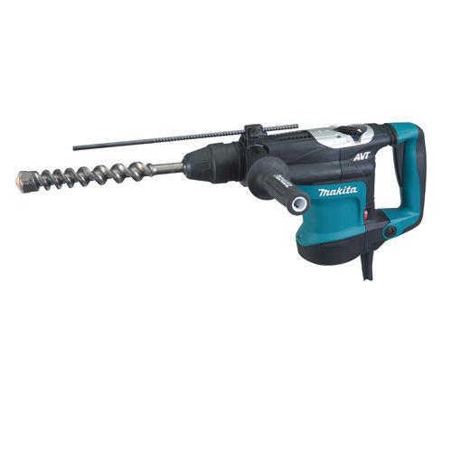 Makita HR3541FC 35mm SDS Max Rotary Hammer Drill with AVT 240V - 4