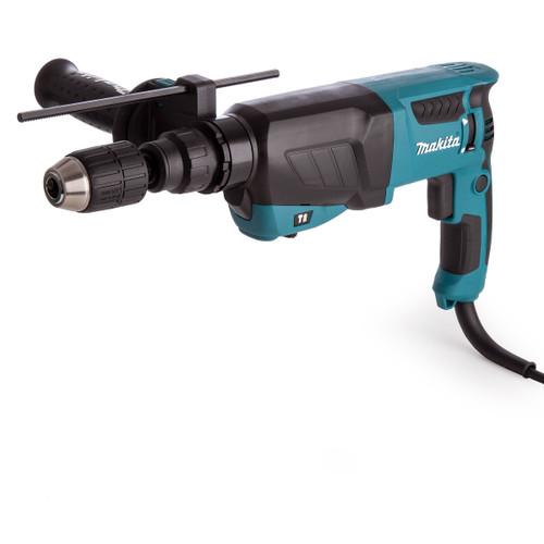 Makita HR2630X7 26mm SDS+ 3 Mode Rotary Hammer Drill with Keyless Chuck & SDS Adapter 240V - 6