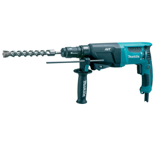 Buy Makita HR2611FT SDS+ 3 Mode AVT Rotary Hammer Drill with Quick Change Chuck 240V at Toolstop