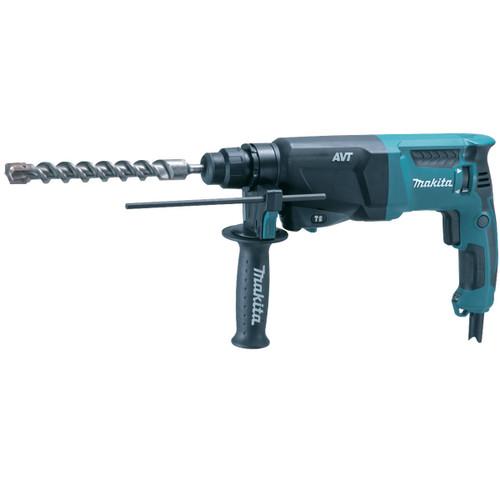 Buy Makita HR2611F SDS+ 3 Mode AVT Rotary Hammer Drill 110V at Toolstop