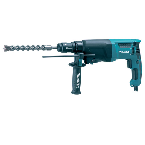 Buy Makita HR2610T SDS+ 3 Mode Rotary Hammer Drill with Quick Change Chuck 110V at Toolstop