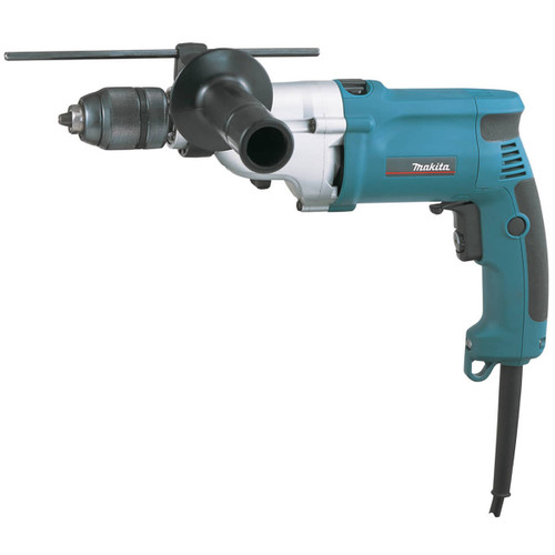 "Makita HP2051 110V 0.5""/13mm Percussion Drill with Keyless Chuck - 1"
