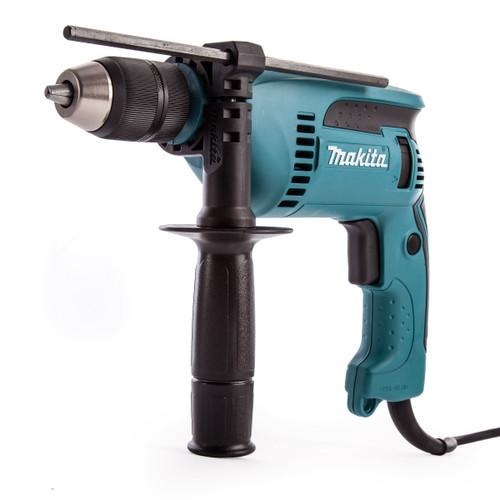 Makita HP1641 13mm 680W Percussion Drill c/w Keyless Chuck 110V - 3