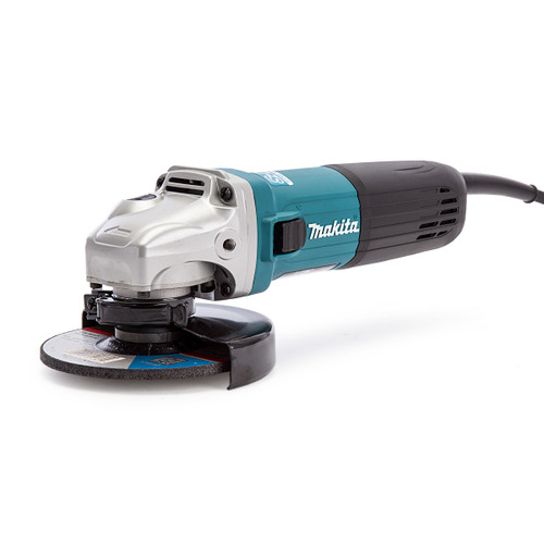 Makita GA5040R01 Corded 125mm Angle Grinder 110V - 4